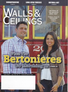 Walls and Ceilings Cover