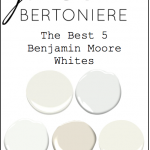 The 5 Benjamin Moore Whites